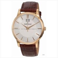 Claude Bernard . 63003 37R AIR . Classic (M) Big Date Leather White a0817e1da94