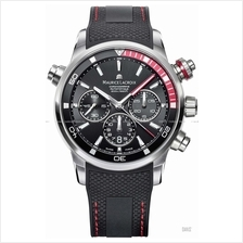 MAURICE LACROIX PT6018-SS001-330 Pontos S Rubber Leather Black Red