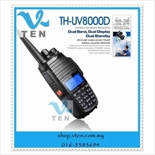 Free Shipping TYT TH-UV8000D 10W High Power Walkie Talkie Dual Band