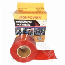 HighPower silicone self fusing repair tape 25mm X 3meter (RED)