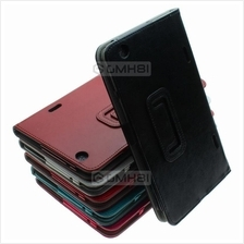 LG G Pad 8.3 Gpad V500 Premium Synthetic Leather Flip Book Cover Case
