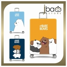D.Beaner Elastic Travel Luggage Suitcase Protector Cover (We Bare Bear