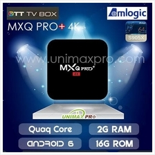 MXQ PRO+ 4K TV BOX S905X Quad Core 2GB Ram 16GB Rom Android 6