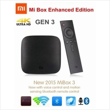 Original MIUI 64Bit XiaoMi Mibox Mi Smart TV Box Pro 3rd 4K HD Android