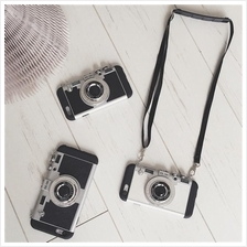Retro Camera Leica Design Phone Case with Lanyard String iPhone 6/6+