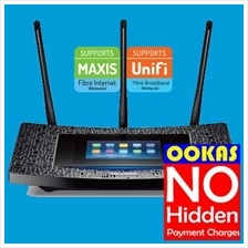 TP-LINK AC1900 WiFi Gigabit Wireless Router Touch P5 UniFi Maxis Time