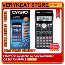 Electronic Scientific Standard School Calculator CASIO FX-570MS