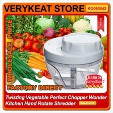 Twisting Vegetable Perfect Speedy Chopper Kitchen Hand Rotate Shredder