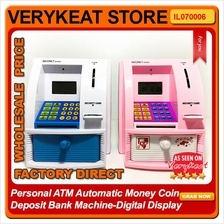 Personal ATM Automatic Money Coin Deposit Bank Machine-Digital Display