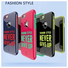 Baseus Fashion Style Never Give Up Phone Case For iPhone 6/6 Plus