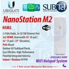 NSM2 Ubiquiti NanoStation M 2 Outdoor Access Point SOCIAL WIFI HOTSPOT