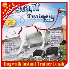 The Instant Trainer Leash Trains Dogs Pet Stop Pulling DogWalk