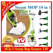 3rd GEN H2O Mop X10 10in1 X5 5in1 Floor Steam Mop Cleaner Steamer