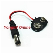 2.1x5.5mm Male DC Plug to 9v Battery Clip Cable (CP-C-182)