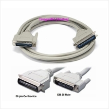 1284 IEEE DB25 to Centronics 36 Pin Parallel Printer Cable (CP-C-060)