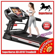SuperHorse AD-A918 Treadmill Home Fitness Gym Running Walking Exercise