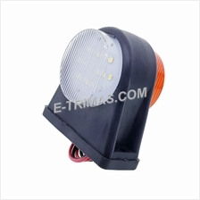 LED Tail Lights Side Rear Mini Marker Lamp Light For Lorry Truck Trailer
