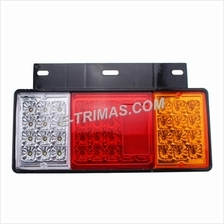 44LED Isuzu NPR NKR NHR NLR Rear Tail Light Signal Lamp Trailer Truck Van 12V