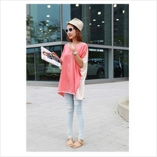 Trendy Love Word Design Casual Tunic Long Top
