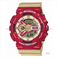 CASIO GA-110CS-4A G-SHOCK ana-digi IRONMAN resin strap red gold LE