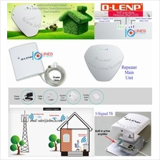 D-LENP i-Signal5 GSM 900Mhz 2G Repeater Booster Dual amplifier Signal Level LE