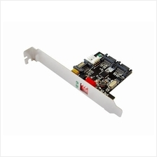 1:2(2x1) SATA Hardware RAID Port Multiplier(PM), RAID 0, 1, JBOD No need drive