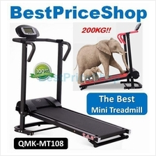 Top Grade Big Portable & Foldable Mini Treadmill Gym Running QMK-MT108