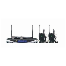 IVA UX-34D L2 - Wireless System with 2 Lavelier Mics (NEW) - FREE SHIP