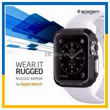 Original Spigen Apple Watch Case Rugged Armor 38mm 42mm Cover Series 2