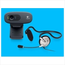 LOGITECH HD WEBCAM C270H WITH MONO HEADSET (2Y WARRANTY)