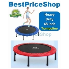 MIKING 48 inch Foldable Adult Trampoline Fitness Slimming Anti Stress