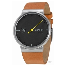 SKAGEN SKW6194 Men's Ancher Mono Leather Strap Black Brown