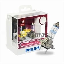 GENUINE Philips H7 X-treme Vision Plus + 130% + 45 Meter (Twin Pack)