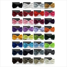Solid Color Bow Ties, Smooth (Wedding/Function)