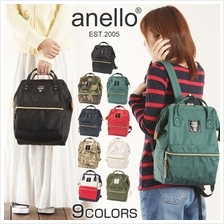 ANELLO JAPAN 2016 NEW Polyester Canvas Casual Backpack (with Zip)