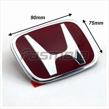 Honda SNW-J01 Type-R Style Red Emblem for Hood / Trunk