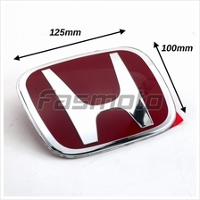 Honda S5T-E01 Type-R Style Red Emblem for Hood / Trunk