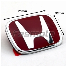 Honda SNW-003ZC Type-R Style Red Emblem for Hood / Trunk