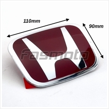 Honda SNW-003 Type-R Style Red Emblem for Hood / Trunk