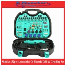 Shifuke 252pcs Accessories Of Electric Drill Grinder & Grinding Set