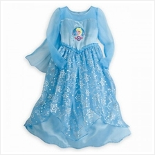 [GS] Frozen Elsa Maxi Jubah Party Dress