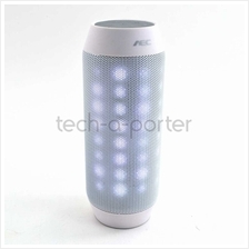 AEC Pulse Light Portable Bluetooth Speakers White