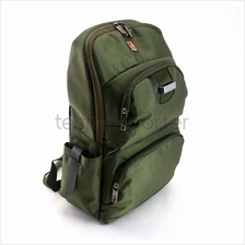 "SWISSGEAR 14"" Laptop Backpack Bag Navy Green"