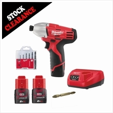 Milwaukee cordless Impact Driver 1/4'''' C12ID-152C combo set W/ Drill S
