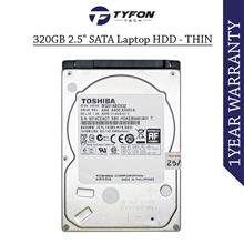 "Mix Branded 320GB 2.5 "" SATA Laptop Hard Disk Drive HDD - Thin Size"