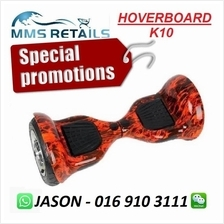 SMART BALANCE WHEEL HOVERBOARD SCOOTER AIRBOARD 10 INCH