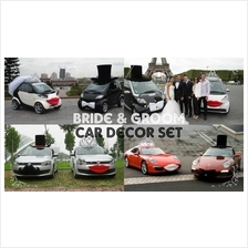Wedding B&G Car Decor Set *Free Shipping*