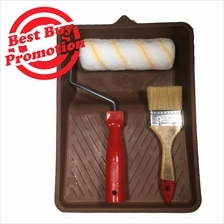 Paint Roller 443# with Brush 95# 2 1/2'' Paint Tray Starter Set