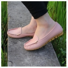 MT004993 Women Casual PU Leather Peas Flat Shoes