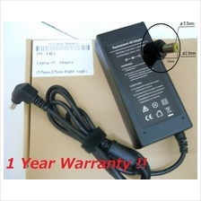 Acer 19V 3.42A 65W 5.5mm 2.5mm Right Angle AC Adapter Laptop Charger A